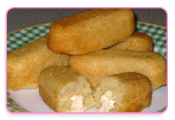 Cream cakes (faux twinkies)